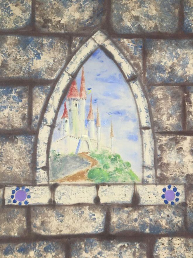 Scenery castle